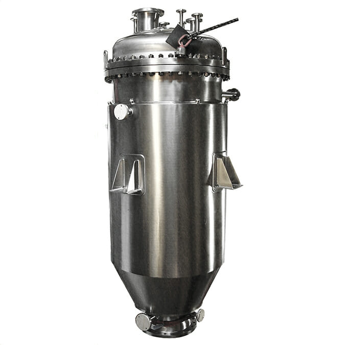 Steribac filter vessel