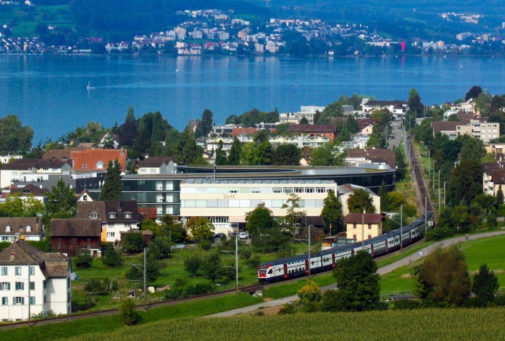 Штаб-квартира DrM в Швейцарии