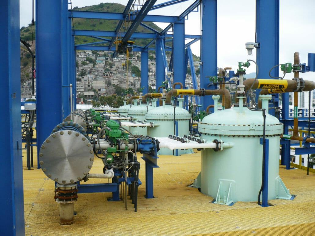 Brine production
