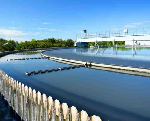 Treatment of VCM waste water stream in PVC production
