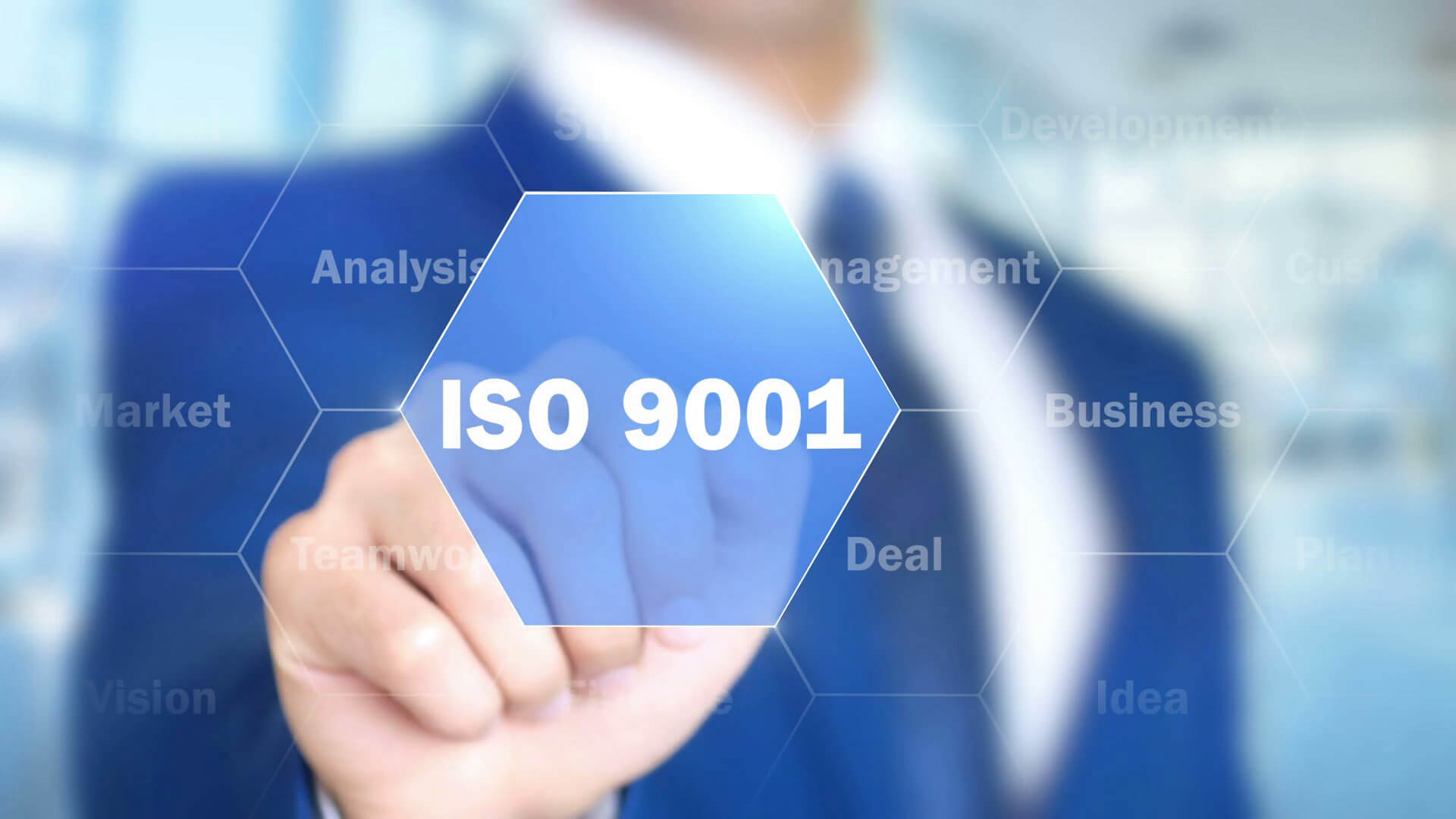 DrM's Quality System is ISO 9001 certified